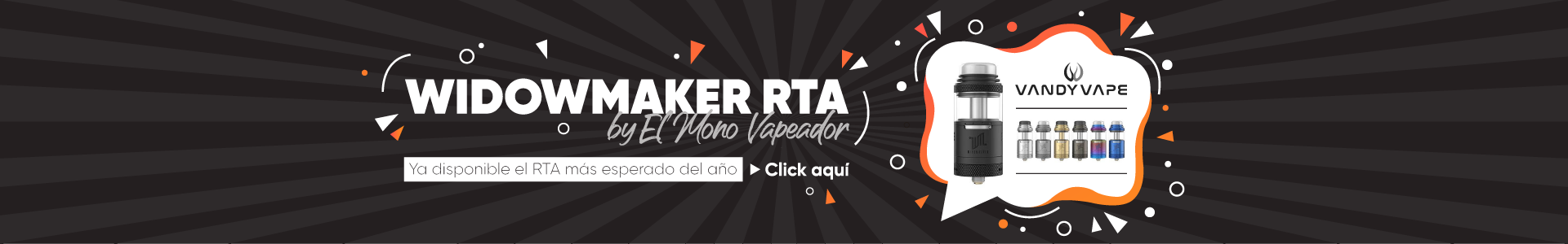 Comprar Widowmaker RTA